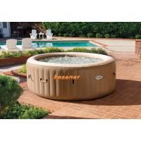Intex Masažni bazen PureSpa™ Bubble Massage Set napihljiv veliki  6-7 oseb fi 216 cm