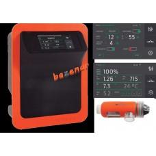 Elektroliza EVO LINK 15 vključno pH, Rx, Temperatura, WIFI - solinator  za bazen do 60 m3 nadgradljiv